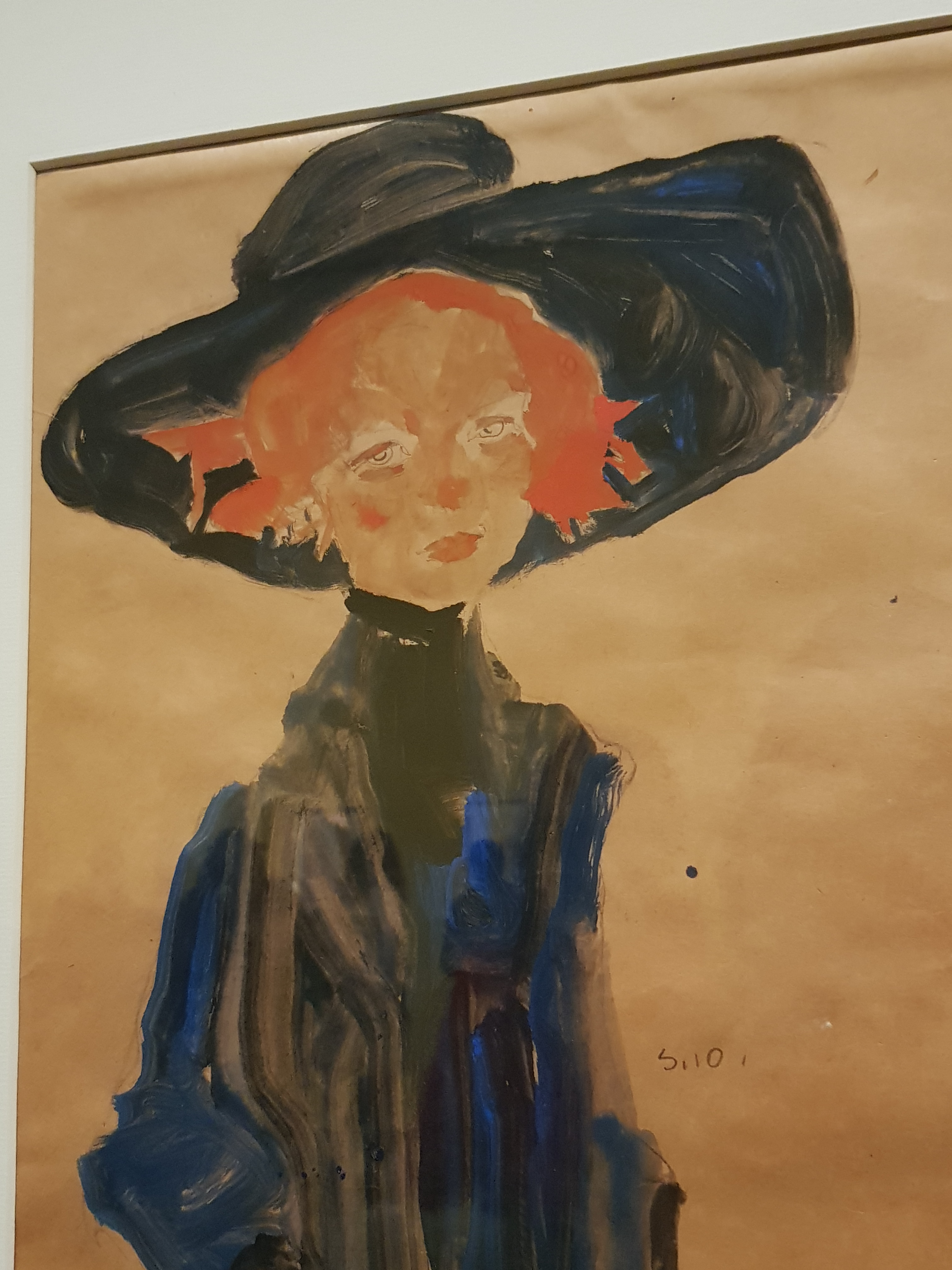 lady with hat 1