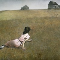 Reflecting on My Life with Christina Baker Kline's a piece of the world and Andrew Wyeth's  Christina's World